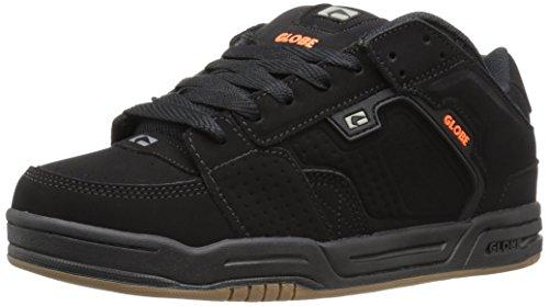 GLOBE Skateboard Shoes SCRIBE BLACK/BLACK/ORANGE