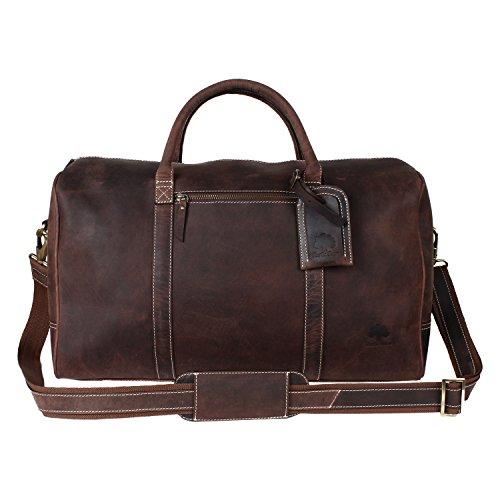 Luxury Leather Luggage - 6