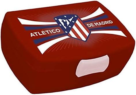 ATLETICO DE MADRID SANWICHERA Fiambrera, Adultos Unisex, Rojo (Rojo), Talla Única