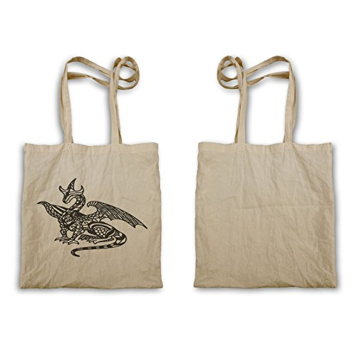 Zentangle Dragon Carry Bag S651r