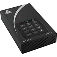 Apricorn Aegis Padlock DT FIPS ADT-3PL256F-3000 3 TB 3.5 External Hard Drive