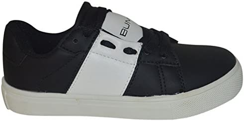 BUM Equipment Kids /& Youth Classy Low Top Lace Sneaker Shoes Black/_White