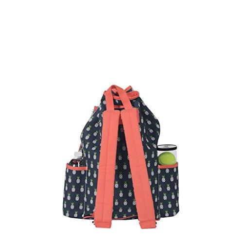 Ame & Lulu Kingsley Tennis Backpack (Pineapple) by Ame & Lulu (Image #1)
