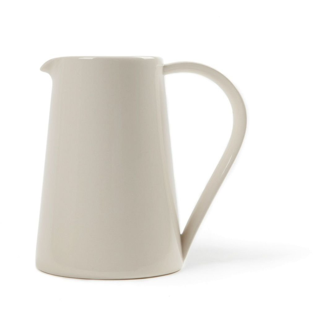Another Country Stoneware Pitcher   Cream