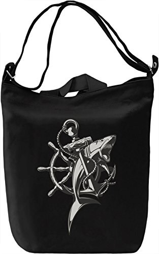 Anchor Borsa Giornaliera Canvas Canvas Day Bag| 100% Premium Cotton Canvas| DTG Printing|