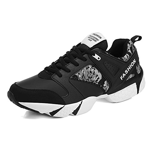 da Cricket Scarpe White Athletic Gioca Tide Shoes Flat Men's a Lace Up Cool Heel Black gPnw4
