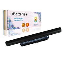 UBatteries Laptop Battery Acer AS010B41 AS10B31 AS10B3E AS10B41 AS10B51 AS10B5E AS10B61 AS10B6E AS10B71 AS10B73 AS10B75 AS10B7E AS10E7E AS2010B A7BTA020F AK.006BT.082 B1001-2 BT.00603.110 BT.00603.116 BT.00604.048 BT.00605.061 BT.00605.063 BT.00606.007 BT.00606.009 BT.00606.010 BT.00607.122 BT.00607.123 BT.00607.124 BT.00607.128 BT.00607.129 - 6 Cell, 4400mAh
