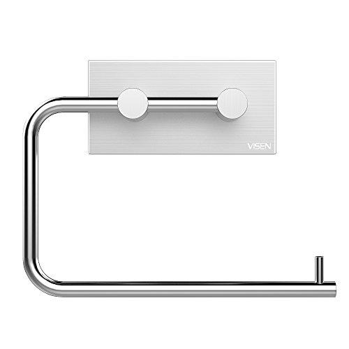 visen-wall-mount-toilet-paper-holder-tissue-roll-hanger-brushed-finish