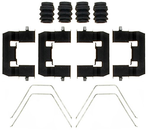 ACDelco 18K2103X Professional Front Disc Brake Caliper Hardware Kit with Clips, Springs, and Seals ()