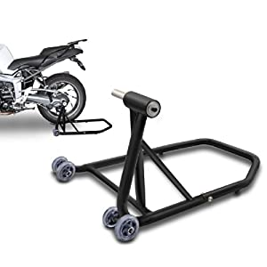 ConStands Rear Paddock Stand Ducati Supersport/ S 2017 black mat, Single Swing Arm, adaptor incl.