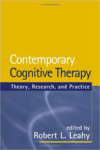 Advances in Cognitive–Behavioral Research and Therapy. Volume 3