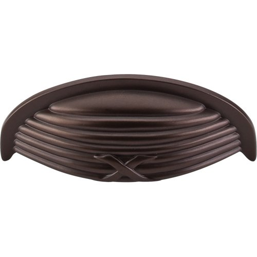 - Top Knobs Ribbon & Reed Cup Pull Oil Rubbed Bronze