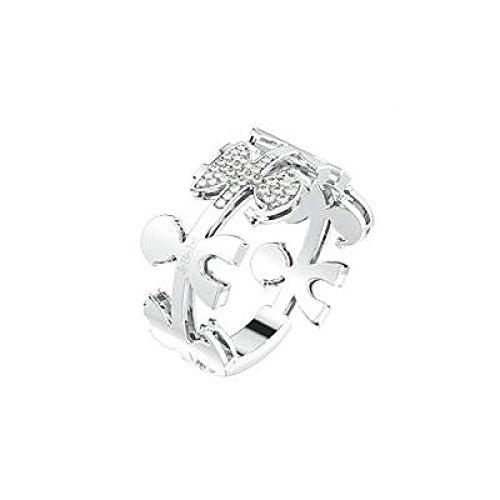 Bague les bebe 'Carrousel lbb085or blanc diamant