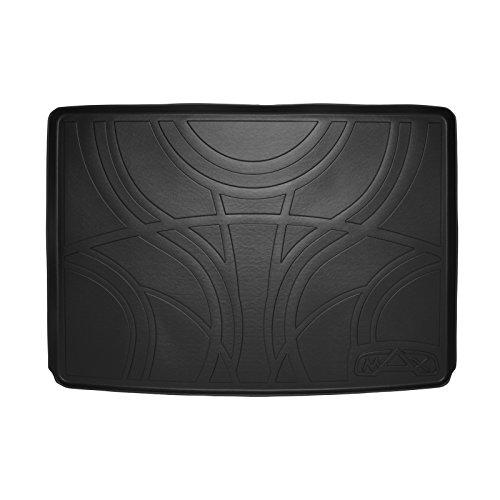 MAX LINER E0159 All Weather Cargo Trunk Liner Floor Mat Behind 3rd Row Black for 2015-2019 Suburban/Yukon XL/Escalade ESV