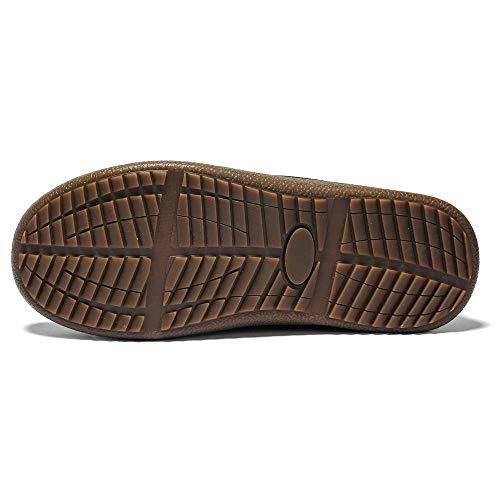 De 9 Taille Homme Hommes Casual Pantoufles Hiver Impermables Boots Antidrapantes Cheville Confortable Formel Snow Chaussures Noir Soonerquicker qYt4wI4