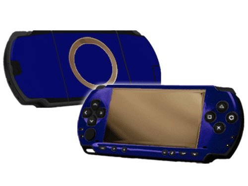 (Sony PlayStation Portable 1000 (PSP) Skin - NEW - COBALT BLUE system skins faceplate decal mod)