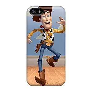 Shock-Absorbing Hard Phone Cover For Iphone 5/5s With Allow Personal Design Colorful Toy Story Pictures ColtonMorrill