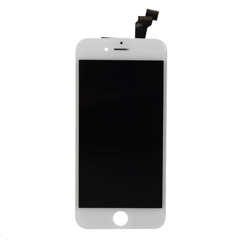 for iPhone 6 Screen Replacement, LCD Display & Touch Screen Digitizer Replacement Full Assembly for iPhone 6 (4.7 inch) with Free Tools Kit (White) by FFtopu (Image #2)