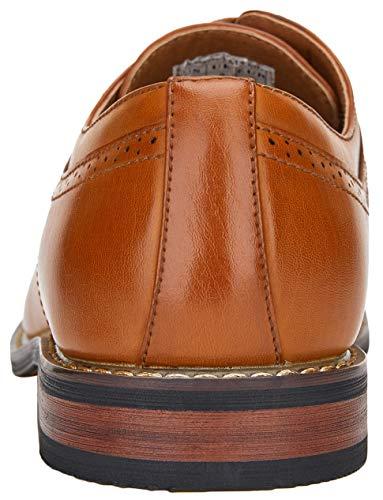JOUSEN Men's Dress Shoes Classic Mens Oxfords Formal Business Shoes Modern Derby Oxford