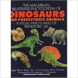 Macmillan Illustrated  Encyclopedia of Dinosaurs and Prehistoric Animals - D. Dixon, B. Cox, R.J.G. Savage [PDF]
