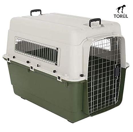 Savic Feria Transportín Mascotas Perros Gatos Conejos (IATA) Verde (L)