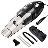 Vozada Car Vacuum Cleaner High Power Corded Portable Handheld Auto Vacuum Cleaner DC 12V for Quick Car Cleaning