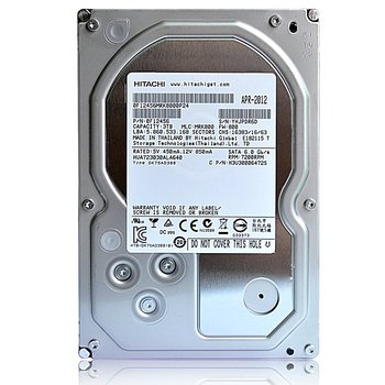 HITACHI 0F14683 Ultrastar A7K4000 4TB 7200 RPM 64MB cache SATA 6.0Gb/s 3.5 internal hard drive (Bare Drive)