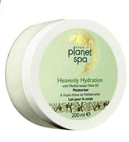 Avon Planet Spa Heavenly Hydration Olive Oil Body Cream 6.7 oz. Heavenly Spa