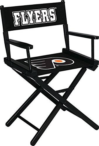 Imperial Officially Licensed NHL Merchandise: Directors Chair (Short, Table Height), Philadelphia Flyers - Dining Height Director Chair