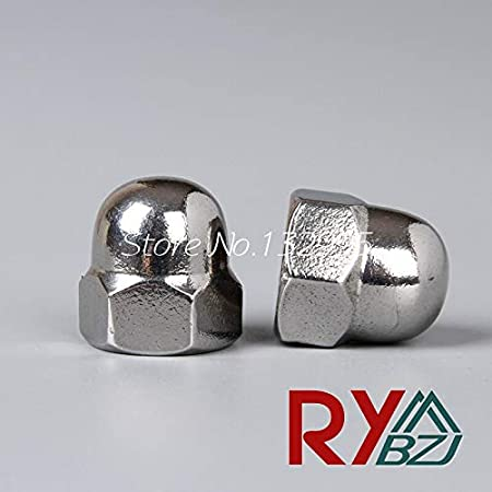 304 Stainless Steel Hex Cap Nuts Hex Acorn Nut M3 M4 M5 M6 M8 M10 M12 M14