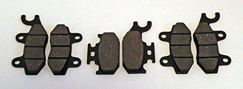 Cycle ATV - Brake Pads - Front and Rear fits Yamaha YXR660 YXR 660 YFM700 YFM 700 R 700R YXR450 450 Raptor Rhino