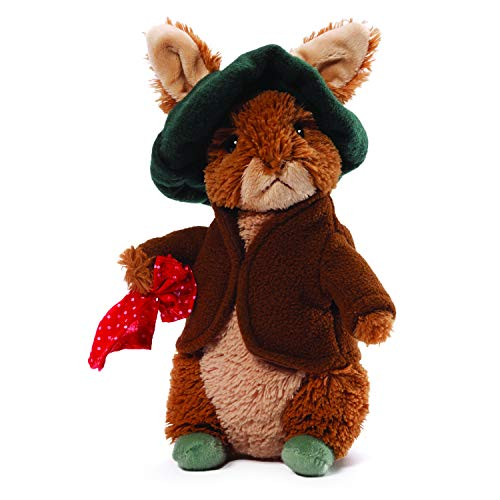 GUND Classic Beatrix Potter Benjamin Bunny Rabbit Stuffed Animal Plush, 6.5