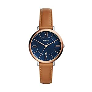 Fossil Women's ES4274 Analog Quartz Brown Watch