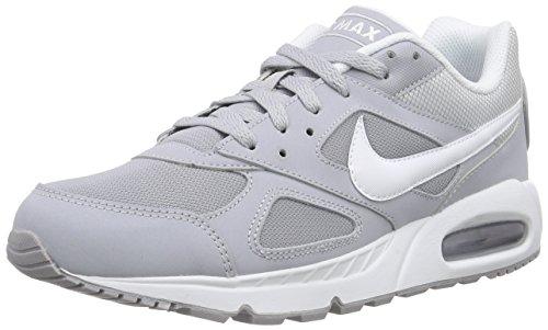 Nike Air Max Ivo, Scarpe da Ginnastica Uomo Grigio (Wolf Grey/White)