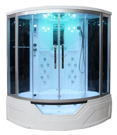 Eagle Bath Steam Shower.Eagle Bath Ws 703 59 Inch Steam Shower W Whirlpool Bathtub Combo