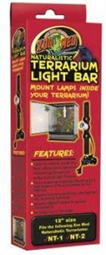 Zoo Med Naturalistic Terrarium Light Bar, 12-Inch by Zoo Med