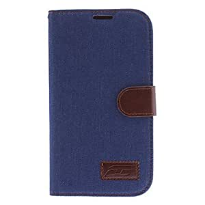 Denim Design Full Body Case for Samsung Galaxy Mega 6.3 I9200 (Assorted Colors) --- COLOR:Light Blue
