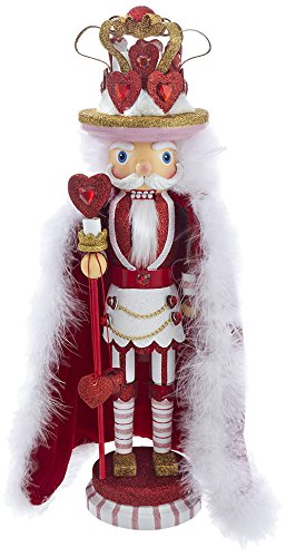 Kurt S. Adler 18'' Hollywood King of Hearts Nutcracker