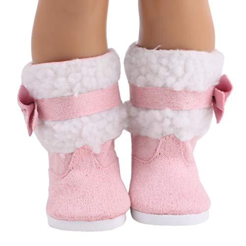 Livoty Doll Clothes Outfits Set Doll Shoes Winter