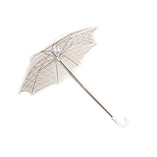 [301 White) Lace Parasol] (Southern Belle Costumes Adult)