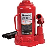 Strongway Hydraulic Quick Lift Bottle Jack - 20-Ton Capacity, 9 1/2in.-17 13/16in. Lift Range