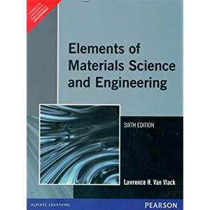 Elements of Material Science and Engineering, 6e