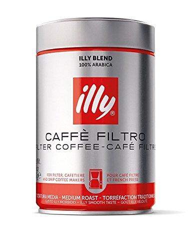 Illy 커피, 로스트, 1 상자 (1 x 250 g)