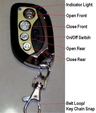 7K Roping Roping Chute Remote - Custom - Chute Remote