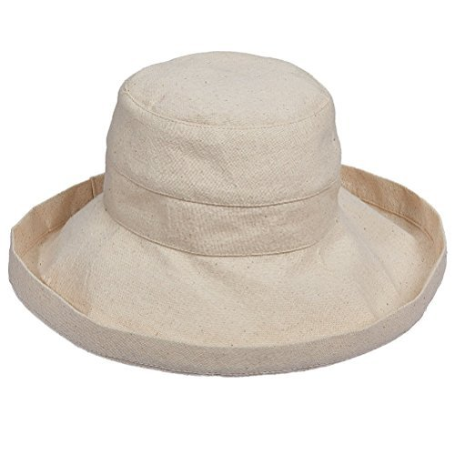 2b159fae9dcd4 Scala Womens Cotton UV Protection Wide Brim Hat Beige O S - Buy Online in  Oman.