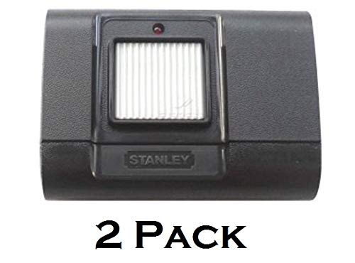 2 Pack 1050 Linear Stanley 105015 1 Button Garage Door Remote Opener Gate Rransmitter Control 310Mhz