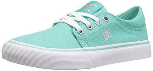 DC Trase TX Skate Shoe (Little Kid/Big Kid) - Aqua - 4 M ...