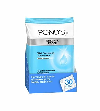 PONDS Original Fresh Wet Cleansing Towelettes, 30-Count by Ponds