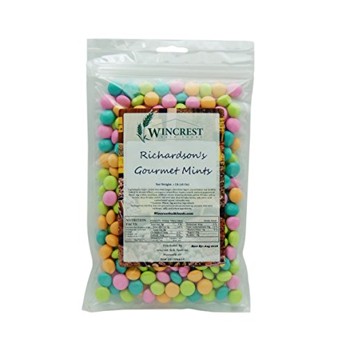 Mint Chocolate Covered - Richardson Gourmet Chocolate Mints - 1lb Bag