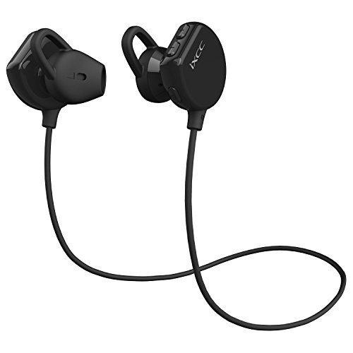 bluetooth headphones ixcc wireless sports earphones half in ear earbuds with mic long. Black Bedroom Furniture Sets. Home Design Ideas